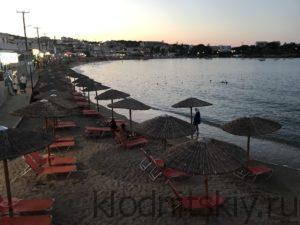 Пляж Агия Пелагия