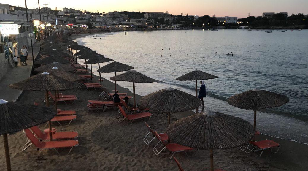 Пляж Агия Пелагия (Крит, Греция)