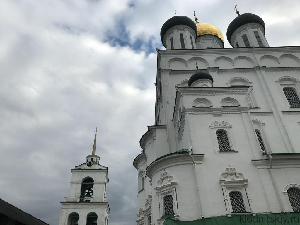 Автопутешествие. Псковский Кремль (Кром).