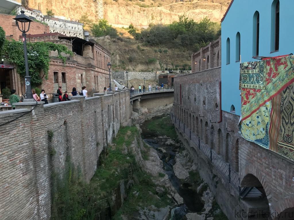 Грузия, Тбилиси (Старый город)