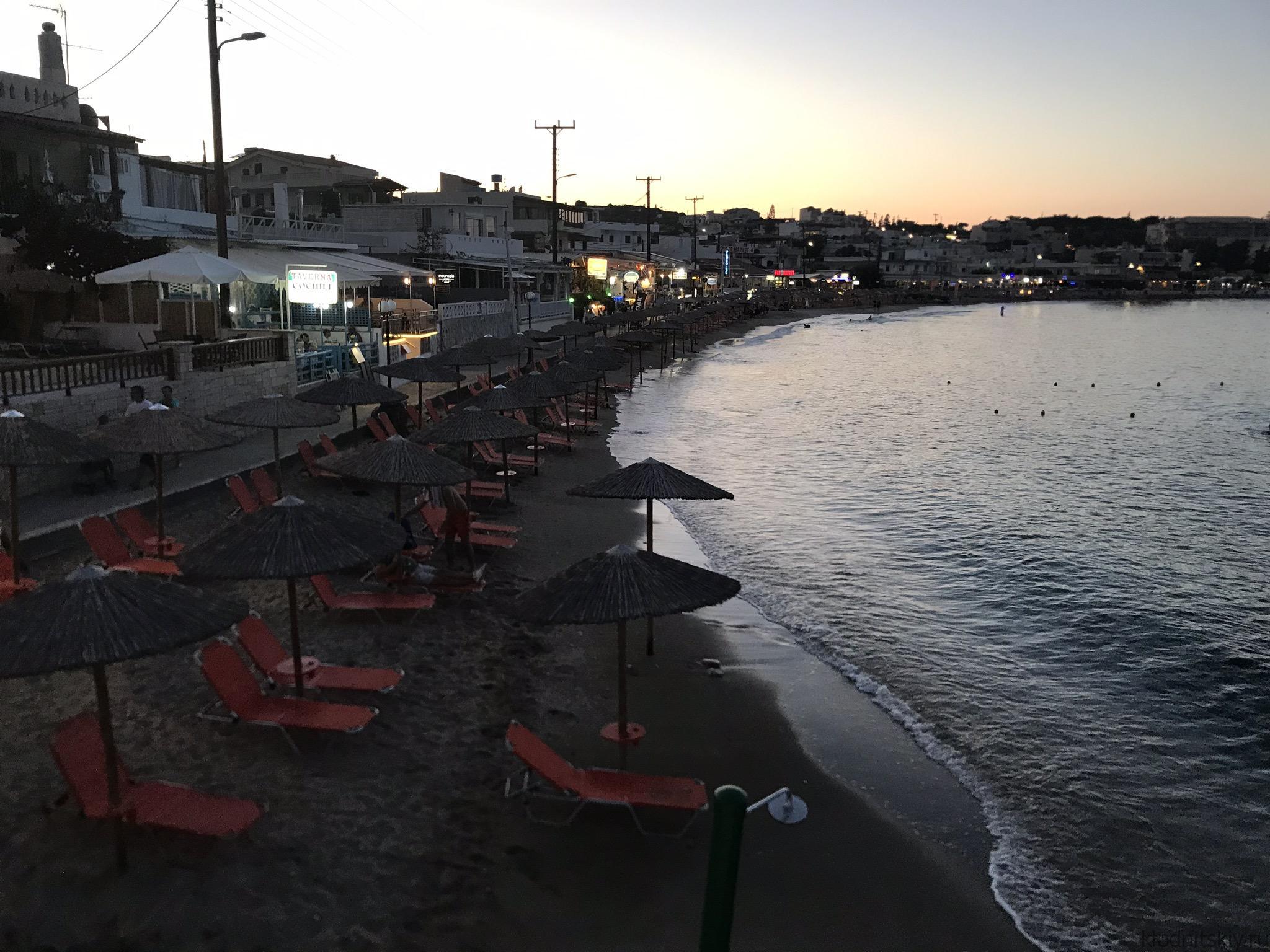 Агия Пелагия Пляж (Крит, Греция)