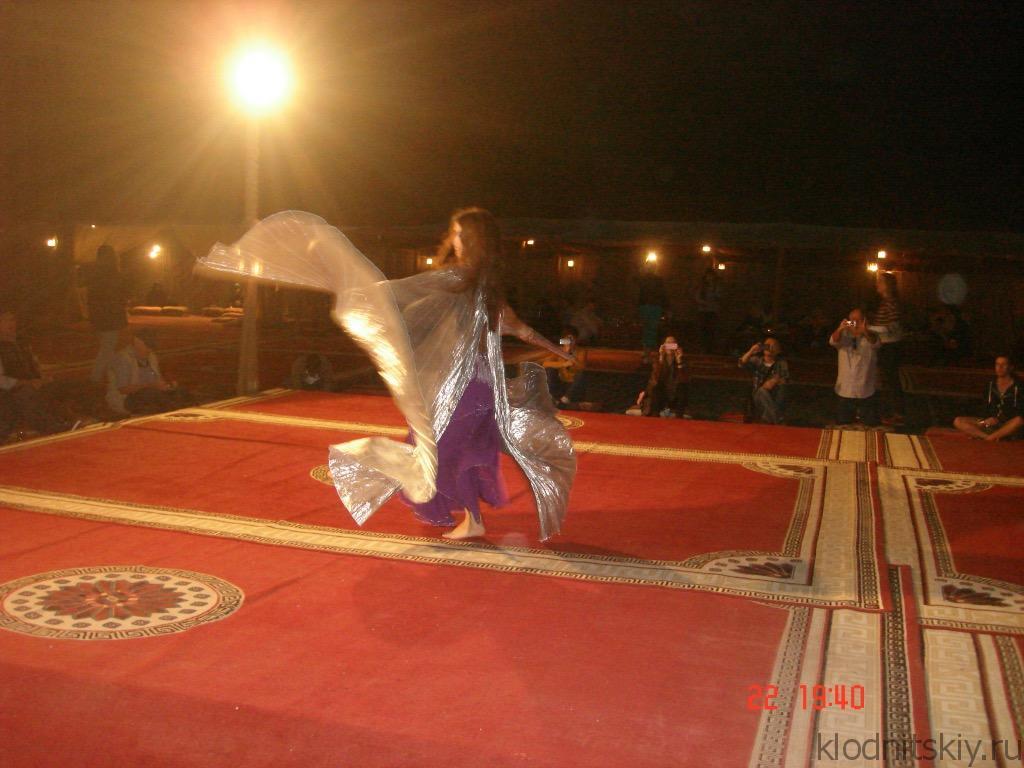 Выступление в пустыне, Дубай, ОАЭ
