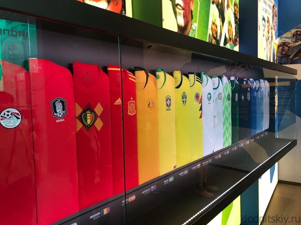 Чемпионат мира по футболу 2018.. Музей Футбола.