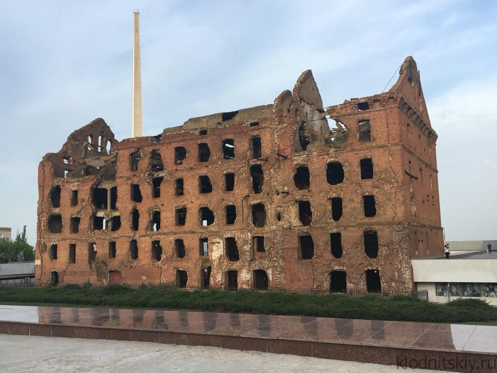Автопутешествие Москва - Волгоград. Мельница.