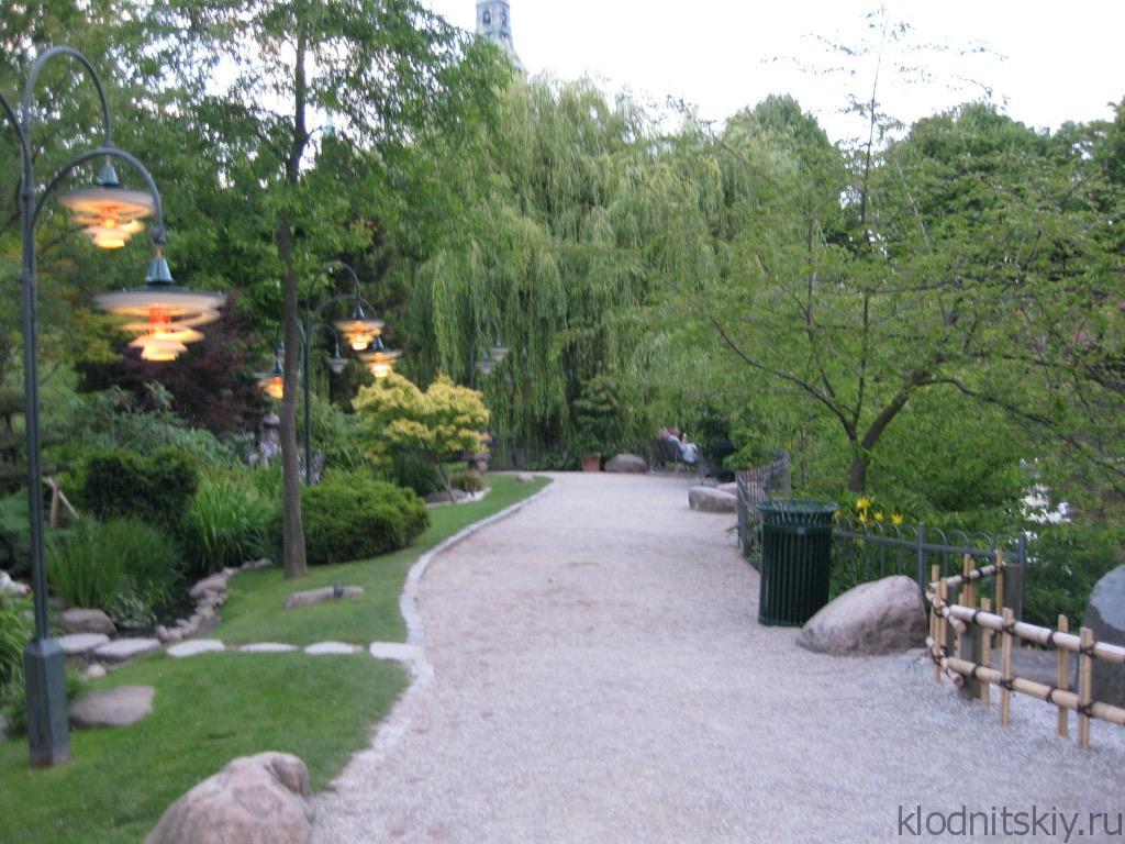 Парк Тиволи в Копенгагене, Дания