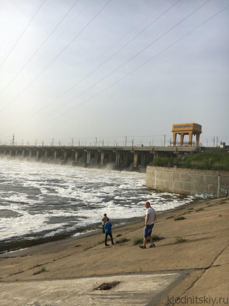 Автопутешествие Москва - Волгоград. Волжская ГЭС.