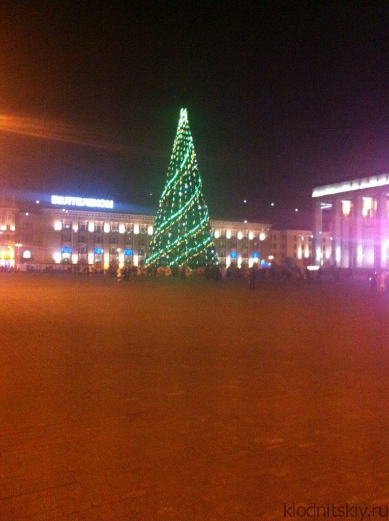 Новогодний Минск, Белоруссия