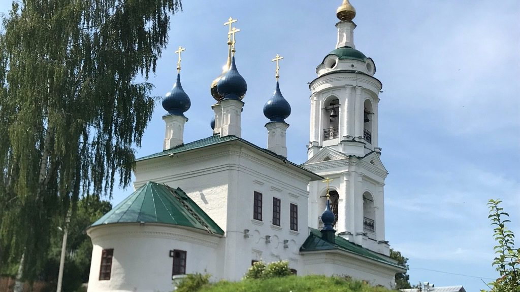 Автопутешествие по золотому кольцу. Плёс. Церковь Святой Варвары