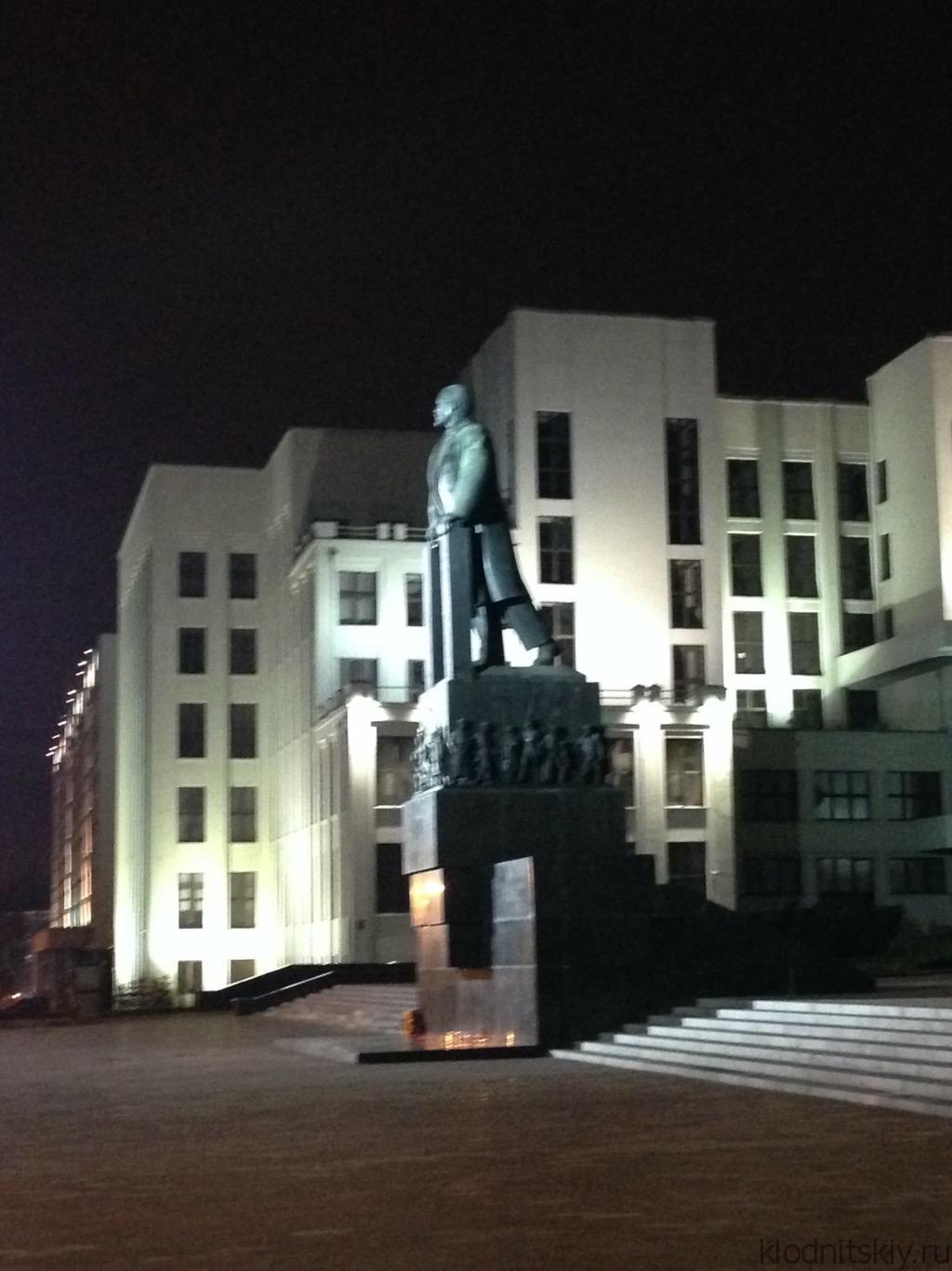 Памятник Ленину, Минск, Белоруссия