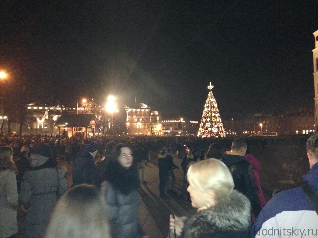 Новогодний Вильнюс, Литва