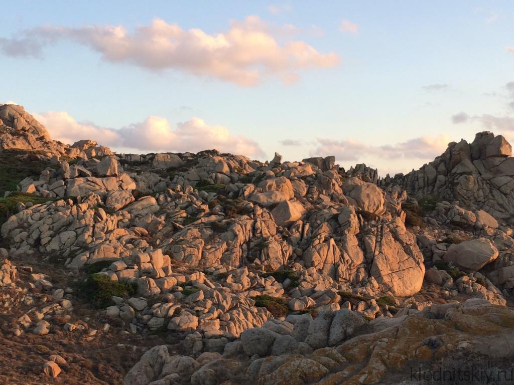 Закат в Фаро (Сардиния)