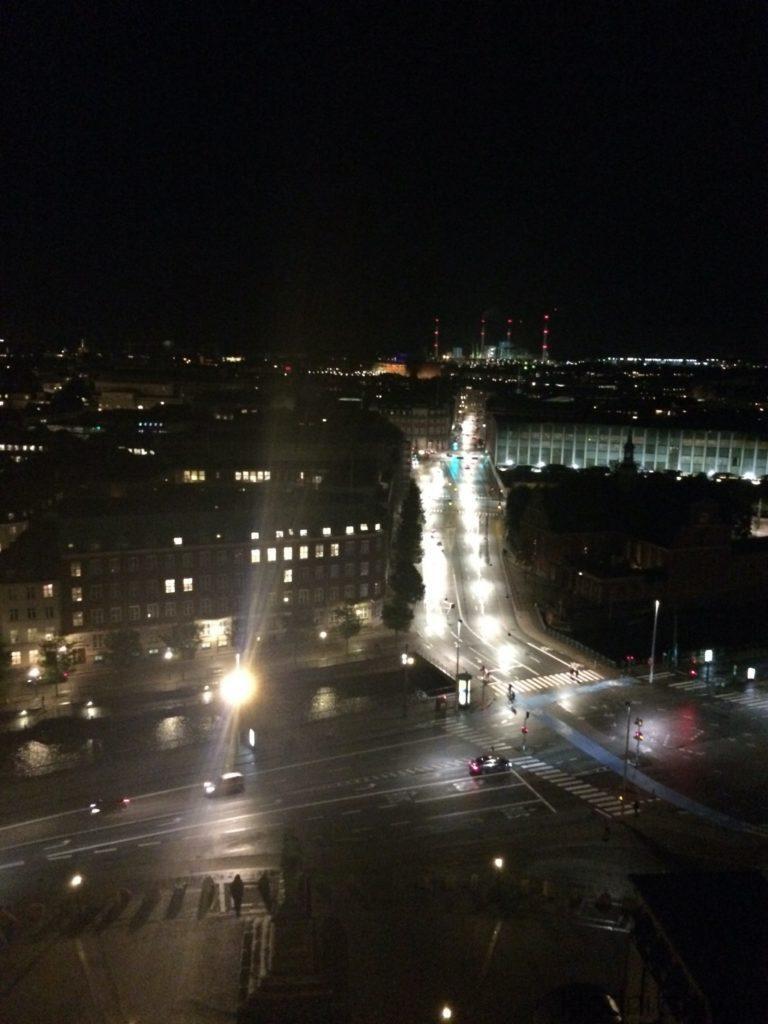 Ночной Копенгаген