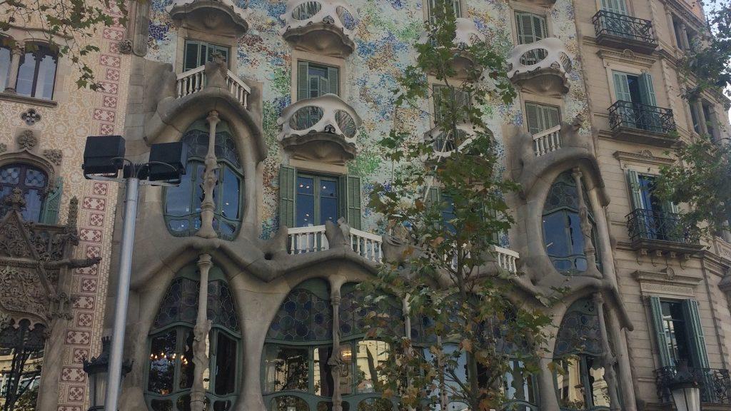 Барселона (Дом Батльо)
