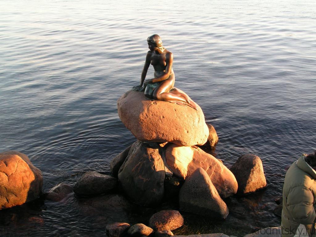 Русалочка, Копенгаген, Дания