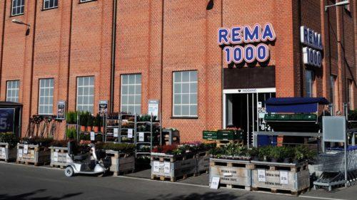 Продуктовый магазин Rama1000 Копенгаген