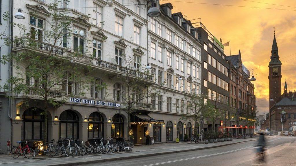 First Hotel Kong Frederik (Копенгаген, Дания)