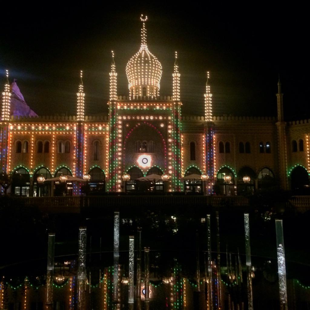 Tivoli, Копенгаген, Дания