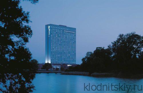 Radisson Blu Scandinavia Hotel (Копенгаген, Дания)