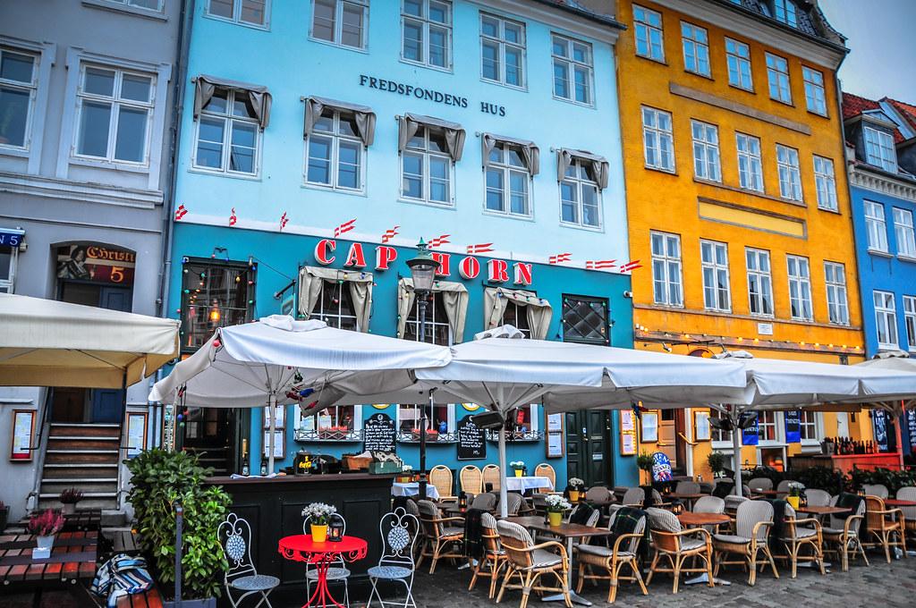 Рестораны NyHavn Копенгаген
