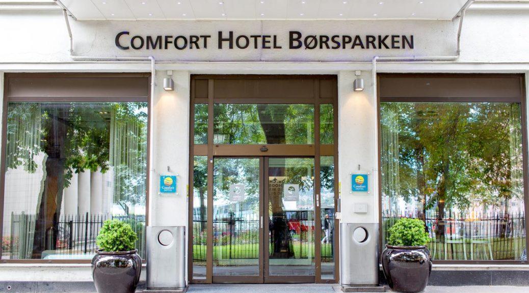 Comfort Hotel Børsparken 3* (Осло, Норвеги)
