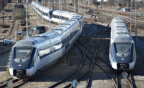 Поезда в Дании