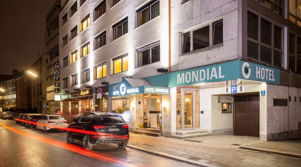 Centro Hotel Mondial 3* (Мюнхен, Германия)
