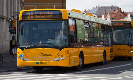 Автобусы Дании