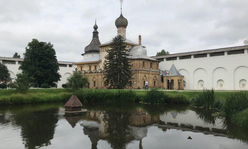 Ростовский кремль. Церковь Одигитрии.
