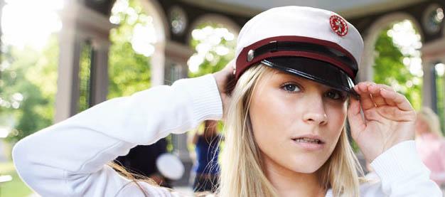 student cap Дания
