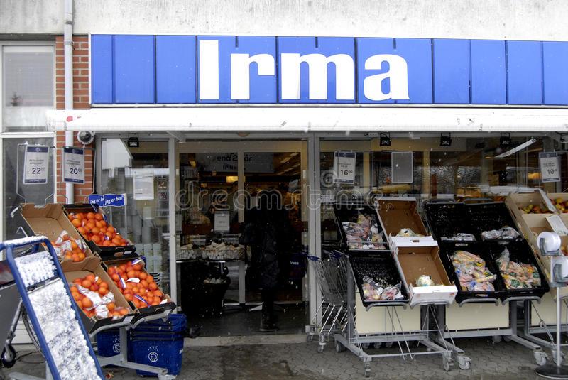 Продуктовый магазин Irma Копенгаген