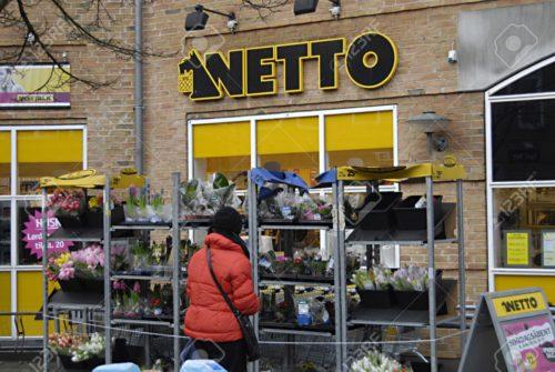 Продуктовый магазин Netto Копенгаген