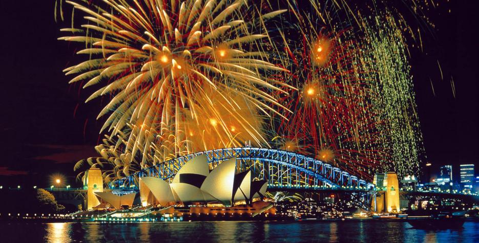 Новый года в Австралии