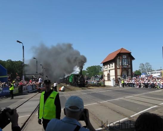 Парад паровозов в Польше