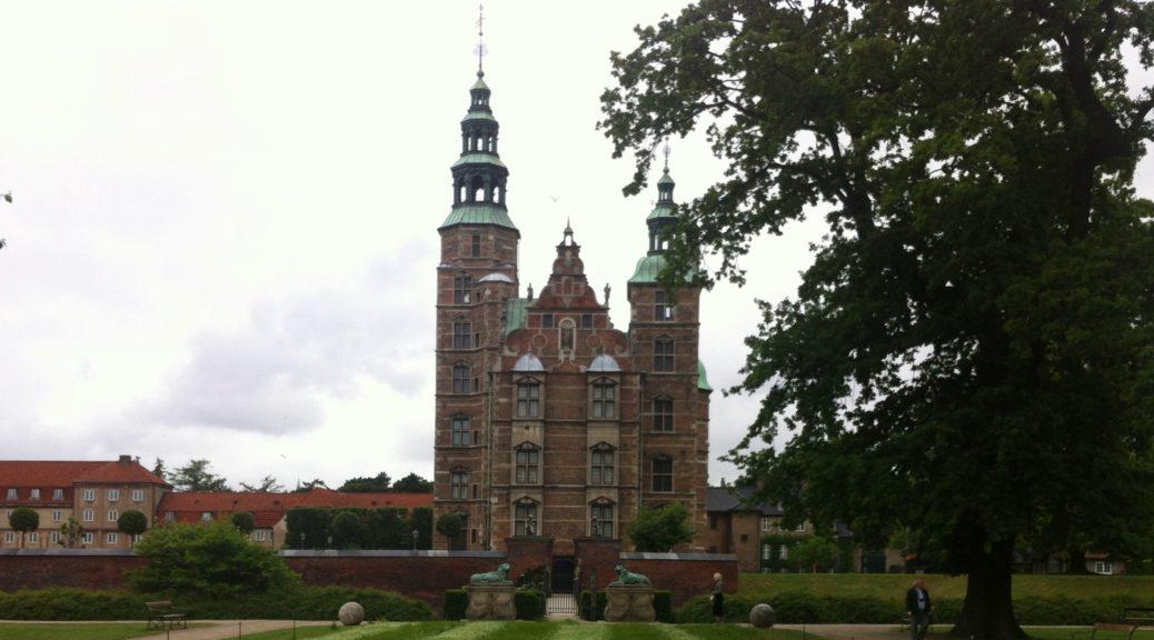 Замки Копенгагена - Розенборг (Rosenborg)