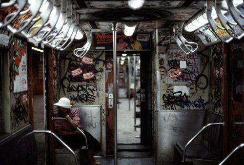 Вагоны метро Нью-Йорка