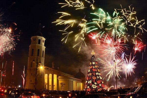 Новый год в Вильнюсе