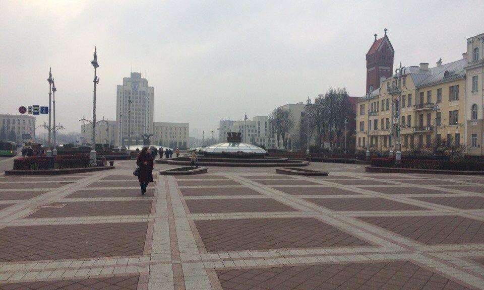 Площадь Независимости, Минск, Республике Беларусь