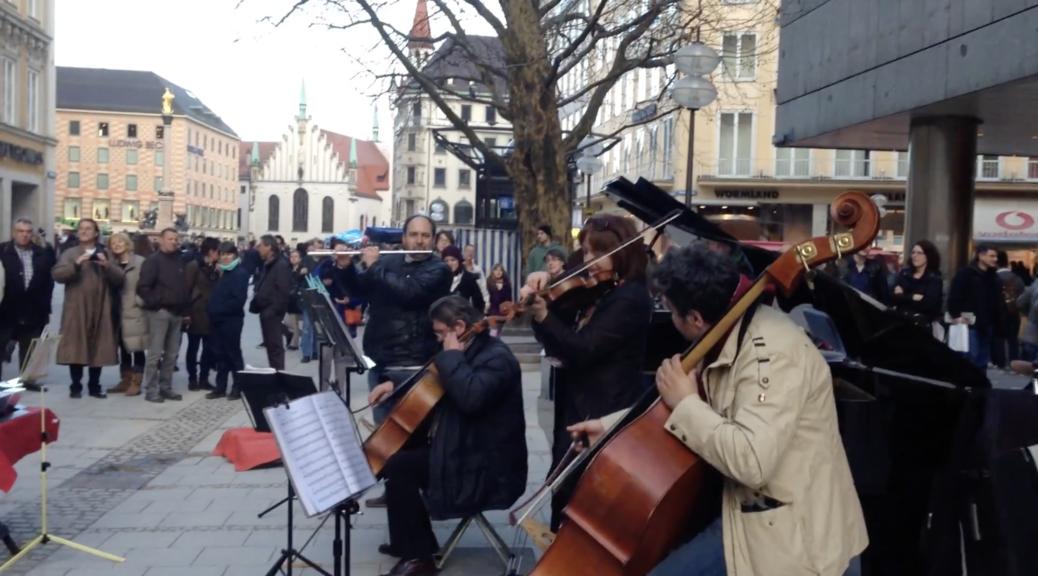 Музыканты в Мюнхене